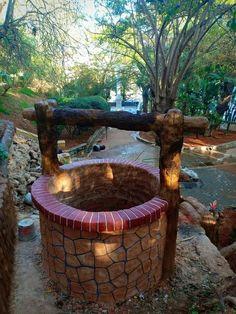 11 idees de puits decoration jardin