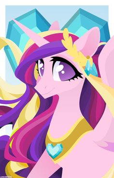 Princess Cadence, My Little Pony Princess, Princess Celestia, Mlp, Celestia And Luna, My Little Pony Cartoon, Princess Pictures, My Little Pony Merchandise, Character Design Animation