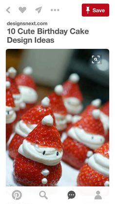 Cute Birthday Cakes, Cake Designs, Christmas Ideas, Appetizers, Breakfast, Food, Morning Coffee, Appetizer, Essen