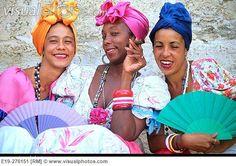 Traditional dress. Havana. Cuba