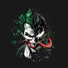 Drawing Marvel Comics Check out this awesome 'Joker Venom' design on Joker Iphone Wallpaper, Joker Wallpapers, Marvel Wallpaper, Hd Wallpaper, Joker Cartoon, Der Joker, Joker Art, Joker Batman, Joker Images