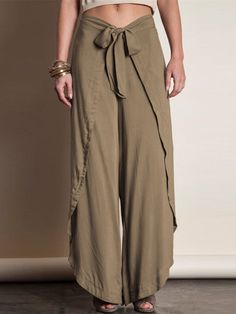Sewing Clothes, Diy Clothes, Sewing Pants, Mode Outfits, Casual Outfits, Boho Fashion, Fashion Outfits, Fashion Design, Thai Fisherman Pants