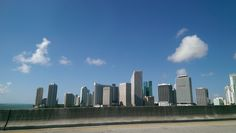Driving to South Beach Miami