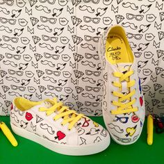 Colour me in shoes at Clarks spring 2016 kids footwear preview