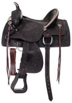 "Jacksonville Hardseat Trail Saddle Package (18"", Black)"