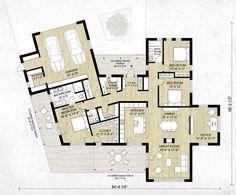 Modern Style House Plan - 3 Beds 2.5 Baths 2116 Sq/Ft Plan #924-4 Floor Plan - Main Floor Plan - Houseplans.com