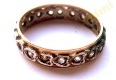 Victorian ring England. Gold silver paste. Infinity от ODMIVINTAGE