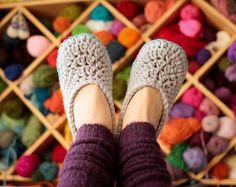 Crochet Slipper Pattern Oma House Slippers