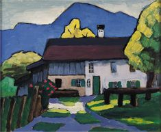 Gabriele Münter, Farm house, 1908