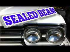 Coches Americanos | SEALED BEAM Volvo, Volkswagen, Beams, Monster Trucks, Vehicles, Youtube, Renault 5, Classic Cars