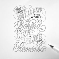 Stand Out in Business the Write Way – Improve Handwriting Typography Love, Vintage Typography, Typography Inspiration, Typography Quotes, Design Inspiration, Improve Handwriting, Nice Handwriting, Hand Lettering Art, Lettering Design