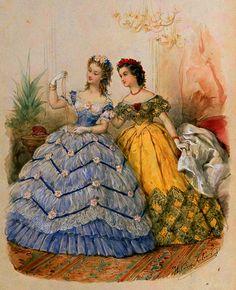 La Mode Illustrée, 1863