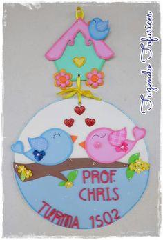 Paper Crafts For Kids, Foam Crafts, Diy And Crafts, File Decoration Ideas, Christmas Crafts, Christmas Ornaments, School Decorations, Cartoon Pics, Felt Art