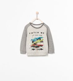 ZARA - ENFANTS - SWEAT-SHIRT VOITURES
