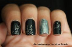 On Wednesdays, We Wear Polish : After Midnight Manicure