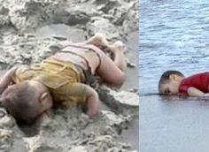 Triste il mondo che ha bisogno della foto di un bimbo a faccia in giù per accorgersi di tragedie ignorate