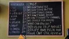 o restaurante que quer ser o pior do yelp