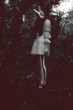 animal mask / Alice in Wonderland Fashion