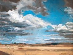 Combrinck, Marinda | Paintings. Karoo Storm.