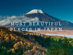 """Explore places in Japan which have officially been named """"The Most Beautiful Villages of Japan""""."""