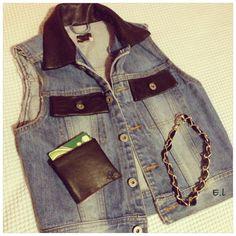 Leather details #diy