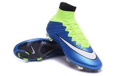 Clearance Nike Mercurial Superfly FG Blue Lagoon White Volt Black $107.99