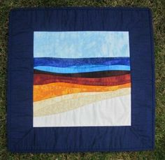 Hand applique. Machine quilted.  Made by Daisychain Quilter.