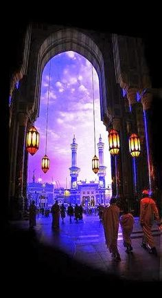 Makkah: Never been there, but this image is evocative!