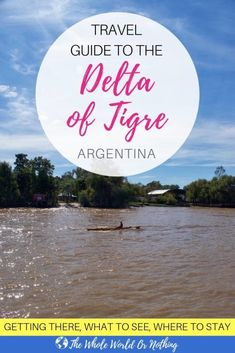Planning your itinerary around Argentina? A side trip to Tigre from Buenos Aires is a must, and if you have time to stay overnight on an island in the delta - here's all you need to know   #argentina #southamerica #buenosaires #backpacking #travel #honeymoon #coupletravel