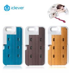 ==> [Free Shipping] Buy Best iClever Phone Cases For iphone 6/6S Dirt-resistant Luxury LED Selfie Stick Remote Control Kickstand Cover Case For iPhone 6/6s Online with LOWEST Price | 32808083834