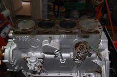 Monoblocco ripulito e pitturato motore AQ 130