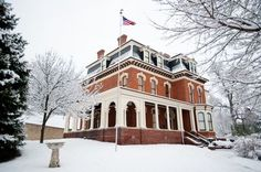 I never lived here, but visited many time, the General Dodge House in Council Bluffs Iowa-very interesting history!