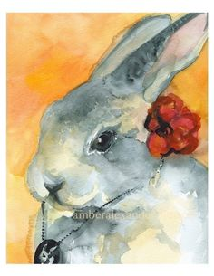 Decked out bunny