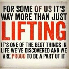 Love to lift