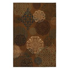 This rug's earth tone color pallet creates a design that is both versatile and modern. In addition to beauty and durability, the rugs are made from superior materials, blending the right colors, textures and patterns to express your personal style.