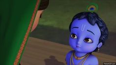 Vision of the Universe by Little Krishna is an animated gif that was created for free on MakeAGif.