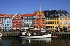 Nyhavn København, Danmark