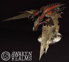 Painted Warhammer 40000 Chaos Space Marines Heldrake (commission) | eBay