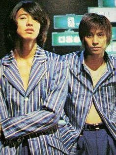 2TOP つとぷ SMAP 木村拓哉 中居正広 Now And Forever, Forever Young, Madly In Love, My Love, Takuya Kimura, Ap Art, Pop Culture, Idol, Men Casual