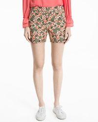 5-inch Floral Print Coastal Stretch Shorts #whbm