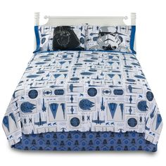 Let the force be with your bedroom with this Star Wars Darth Vader bedding collection. #ForceOfFamily