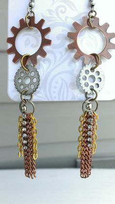 Hey, check out my new Etsy listing at https://www.etsy.com/listing/177504535/chains-and-gears-long-industrial