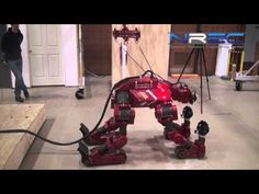 Carnegie Mellon Robot Can Use Power Tools and Drive Around on All Fours - Core77