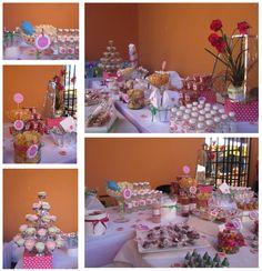 Bautizo mesa de dulces