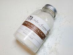 Sól która koi... [ sandalwood & calm ] #sól #kąpiel #relaks #blog #sandalwood