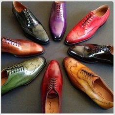 Shoes in every color!