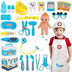 Kids Doctor Kit, Doctor Role Play, Playing Doctor, Electronic Stethoscope, Baby Girls, Toddler Girl, Fruit Gums, Barbie Toys, Birthday Board