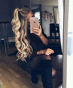 Extension Hair, Remy Human Hair at AMAZING Prices! High-Quality Clip In Hair Extensions And Halo Hair Extensions. Remy Clips Hair Extensions, Easy Hairstyles, Add Instant Length and Instant Volume For The Hair You've Always Dreamed Of. Pretty Hairstyles, Braid Hairstyles, Short Hairstyles, Going Out Hairstyles, Hairstyle Ideas, Long Haircuts, Summer Hairstyles, Half Pony Hairstyles, Wedding Hairstyles