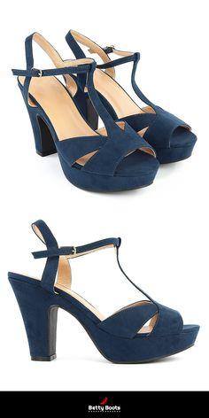 Sandales à Talons - BETTY BOOTS. Sandales À TalonsDaimEscarpinsMode Femme 2410005e8113