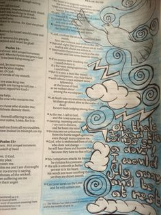 Psalm 55:6-8 and 22